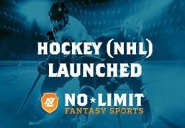 Hockey (NHL) Launched on No Limit Fantasy Sports