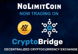 NoLimitCoin now trading at CryptoBridge – a decentralized cryptocurrency exchange