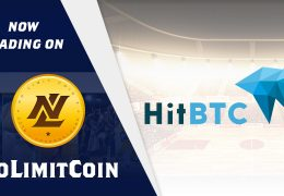 NoLimitCoin is now listed on HitBTC