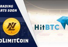 NoLimitCoin will soon start trading on HitBTC