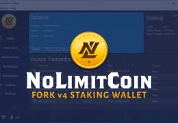 NoLimitCoin NLC2 Fork v4 Staking Wallet Download