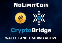NoLimitCoin (NLC2) is now available for trading again at CryptoBridge Decentralized Exchange