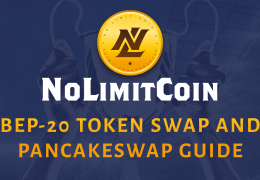 NoLimitCoin BEP-20 token swap and PancakeSwap guide